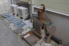 古井戸もあります。使用できるかどうかは確認中。(2011-05-18,共用部,OTHER,1F)