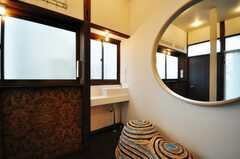 廊下に設置された洗面台の様子。(2010-03-02,共用部,OTHER,1F)