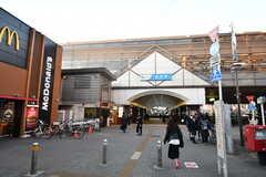 小田急線・経堂駅の様子。(2016-11-29,共用部,ENVIRONMENT,1F)