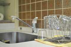 シェアハウスのキッチンの様子3。(2010-08-25,共用部,KITCHEN,1F)