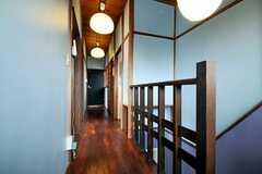 廊下の様子。(2010-08-25,共用部,OTHER,2F)