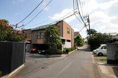 シェアハウスの周辺は超高級住宅地です。(2010-08-25,共用部,ENVIRONMENT,1F)
