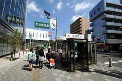東急田園都市線・桜新町駅の様子。(2010-08-25,共用部,ENVIRONMENT,1F)