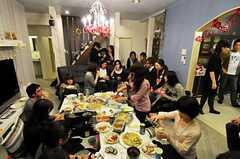 パーティーの様子。(2010-12-11,共用部,PARTY,1F)