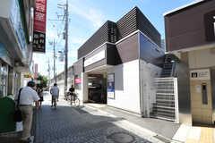 京王電鉄京王線・千歳烏山駅の様子。(2012-09-10,共用部,ENVIRONMENT,1F)