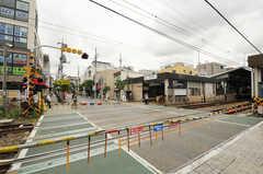 東急大井町線・尾山台駅前の様子。(2013-06-07,共用部,ENVIRONMENT,1F)
