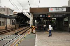 東急大井町線・尾山台駅の様子。(2013-06-07,共用部,ENVIRONMENT,1F)