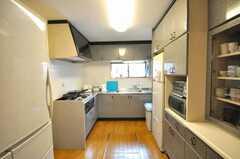 シェアハウスのキッチンの様子。(2009-03-24,共用部,KITCHEN,1F)