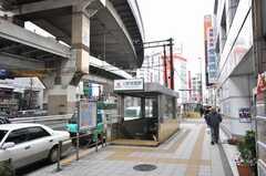 東急田園都市線三軒茶屋駅の様子。(2009-03-24,共用部,ENVIRONMENT,1F)
