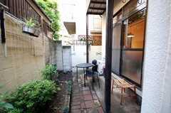 ガーデニング可能な庭の様子。(2008-05-03,共用部,OTHER,1F)