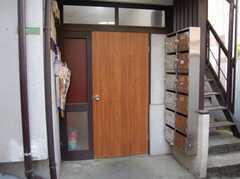 シェアハウスの正面玄関。(2008-02-19,周辺環境,ENTRANCE,1F)