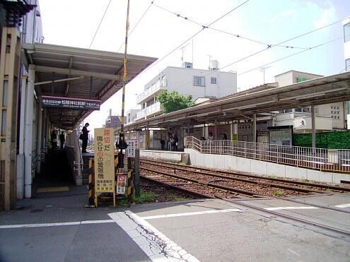世田谷線松蔭神社駅