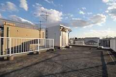 屋上の様子。(2011-12-26,共用部,OTHER,6F)