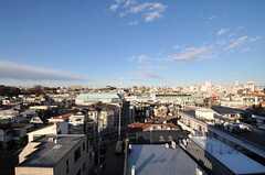 屋上から見える景色。(2011-12-26,共用部,OTHER,6F)