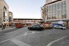 東急各線・自由が丘駅の様子。(2011-12-26,共用部,ENVIRONMENT,1F)