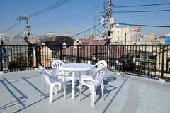 屋上の様子2。(2010-12-28,共用部,OTHER,3F)