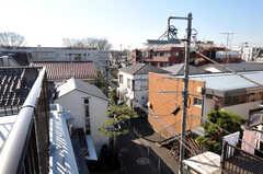 屋上からの景色。(2010-12-28,共用部,OTHER,3F)