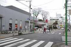 東急大井町線・等々力駅の周辺の様子。(2014-01-09,共用部,ENVIRONMENT,1F)