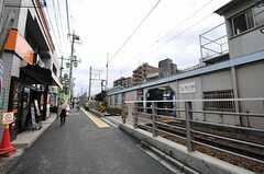 東急大井町線・等々力駅の様子。(2014-01-09,共用部,ENVIRONMENT,1F)