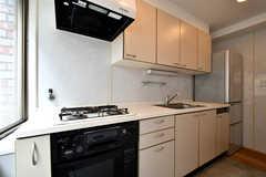 キッチンの様子2。(2021-04-06,共用部,KITCHEN,2F)
