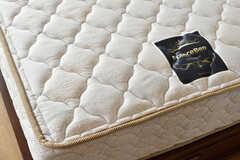 マットレスはフランスベッド社のものを使用しています。(201号室)(2021-04-06,専有部,ROOM,2F)