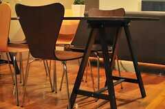 作業台風のテーブルです。(2014-07-24,共用部,LIVINGROOM,1F)