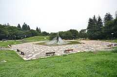 世田谷公園の様子。(2014-07-24,共用部,ENVIRONMENT,1F)