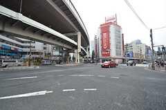 各線・三軒茶屋駅前の様子。(2014-07-24,共用部,ENVIRONMENT,1F)