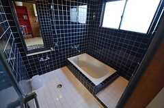 バスルームの様子。タイルが素敵です。(2014-11-18,共用部,BATH,3F)