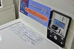 洗濯機はコイン式です。(2013-05-13,共用部,LAUNDRY,1F)