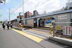 東急大井町線・等々力駅の様子。(2013-05-13,共用部,ENVIRONMENT,1F)