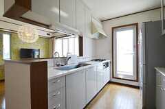 キッチンの様子2。(2014-06-01,共用部,LIVINGROOM,2F)