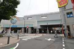小田急小田原線・祖師ケ谷大蔵駅の様子。(2014-06-01,共用部,ENVIRONMENT,1F)