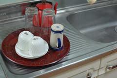 食器を洗ったりするのも部屋で出来ます。(101号室)(2016-10-31,専有部,ROOM,1F)