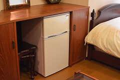 各専有部に冷蔵庫が設置されています。(102号室)(2016-10-31,専有部,ROOM,1F)