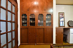 収納棚の様子。(102号室)(2016-10-31,専有部,ROOM,1F)