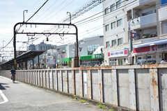 京王線・上北沢駅周辺の様子。(2018-07-10,共用部,ENVIRONMENT,1F)