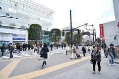 二子玉川駅前の様子。(2017-02-20,共用部,ENVIRONMENT,1F)