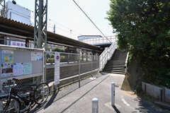 京王井の頭線・東松原駅の様子。(2019-08-09,共用部,ENVIRONMENT,1F)