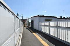 京王井の頭線・東松原駅の様子2。(2019-08-09,共用部,ENVIRONMENT,1F)