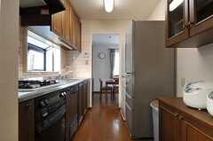 キッチンの様子2。(2012-01-06,共用部,KITCHEN,1F)