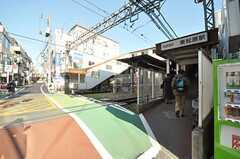 京王井の頭線・東松原駅の様子。  (2012-01-06,共用部,ENVIRONMENT,1F)