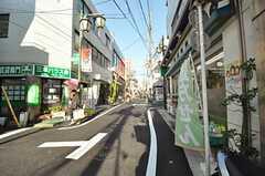 京王井の頭線・東松原駅からシェアハウスへ向かう道の様子。  (2012-01-06,共用部,ENVIRONMENT,1F)
