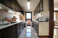 キッチンの様子。(301号室)(2011-01-14,共用部,KITCHEN,3F)