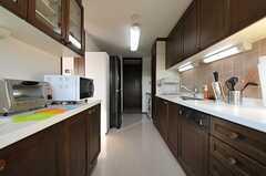 キッチンの様子2。(301号室)(2011-01-14,共用部,KITCHEN,3F)
