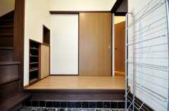正面玄関から見た内部の様子。(2010-02-22,周辺環境,ENTRANCE,1F)