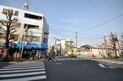東急世田谷線上町駅前の様子。(2010-02-22,共用部,ENVIRONMENT,1F)