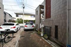 乗用車も駐車可能です。(2018-04-25,共用部,GARAGE,1F)
