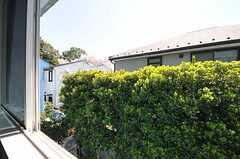 窓からの景色。(206号室)(2011-04-14,専有部,ROOM,2F)