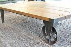 ローテーブルの車輪。(2013-03-01,共用部,OTHER,2F)